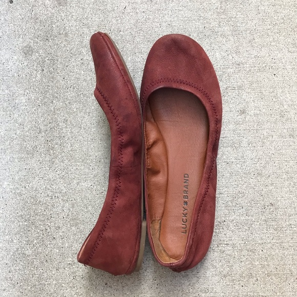 Lucky Brand Shoes - [Lucky Brand] Leather Emmie Flats
